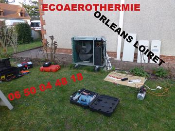 Climatisation et installation de pompe à chaleur Orléans Loiret