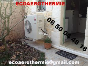 climatisation chauffage Ecoaérothermie Orléans et Loiret