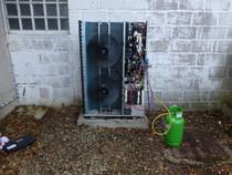 Dépannage pompe à chaleur 45 aglomération Orléans Saran Daikin haute température