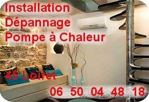 Chauffage clim PAC 45 Loiret Orléans Saran Olivet Saint jean de la ruelle ...